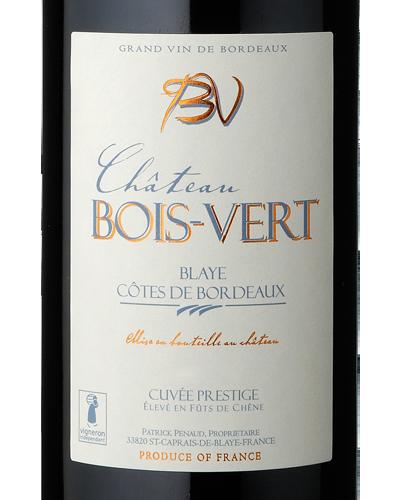 img Château Bois Vert Cuvée Prestige - Blaye Côtes de Bordeaux